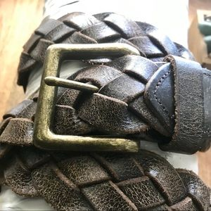 J. Crew Accessories - J.Crew 100% Genuine leather belt